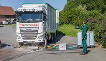 Truck decontamination  Truck disinfection  Vehicle disinfection