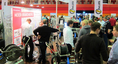 At second time, Meier-Brakenberg exhibits at the fair DeLuTa, the meeting place for Subcontractors - this time in Bremen. We present for this topic especially pressure cleaners with frequency controller and hot water pressure-cleaners. This range of products meets the requirements of German Subcontractors.